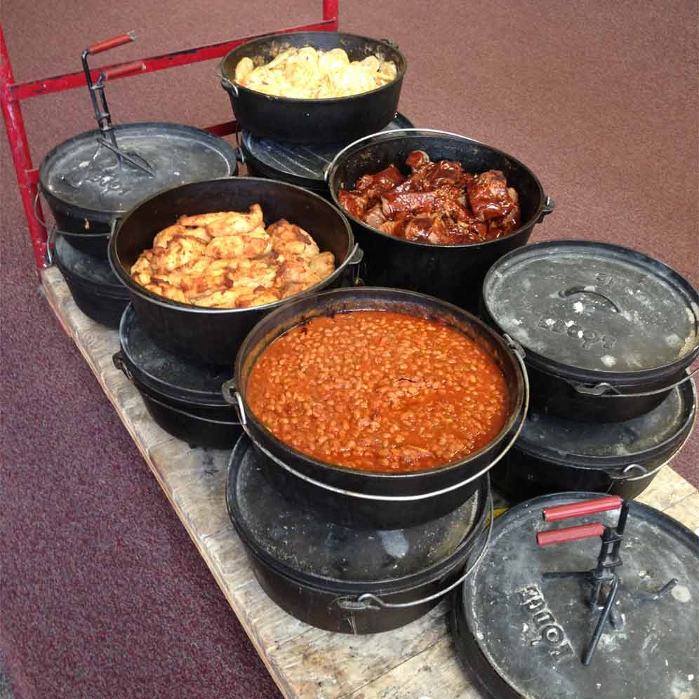 dutch oven catering food