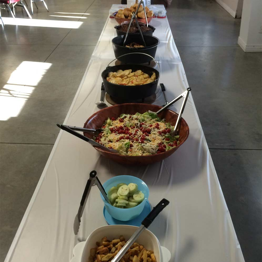 Cast Iron Catering Buffet Line